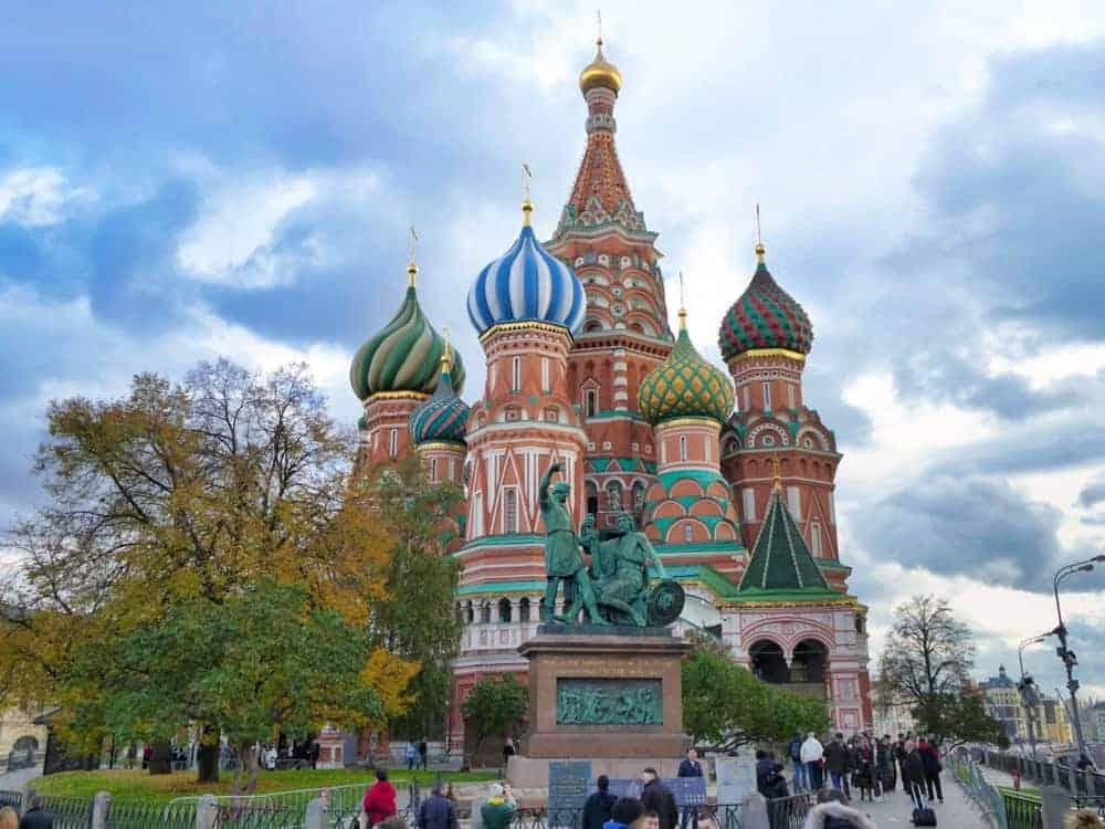 Basilius Kathedrale Moskau Bild 067 - Moskau Städtereise