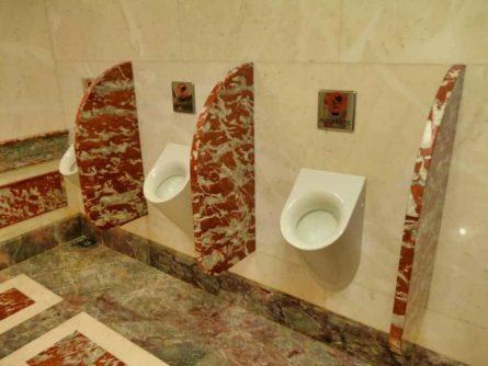 Historische Toilette GUM Moskau Bild 009 445x334 - Historische Toilette im GUM Kaufhaus Moskau