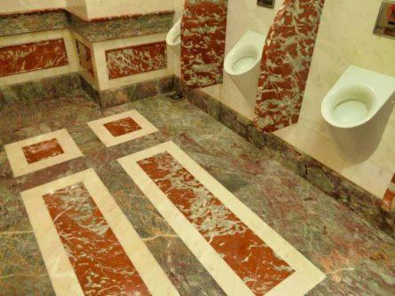 Historische Toilette GUM Moskau Bild 010 445x334 - Historische Toilette im GUM Kaufhaus Moskau