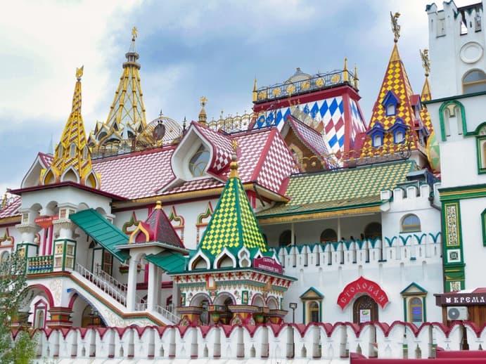 Moskau Tour Reise 2019 046 - Izmailovo Trödelmarkt
