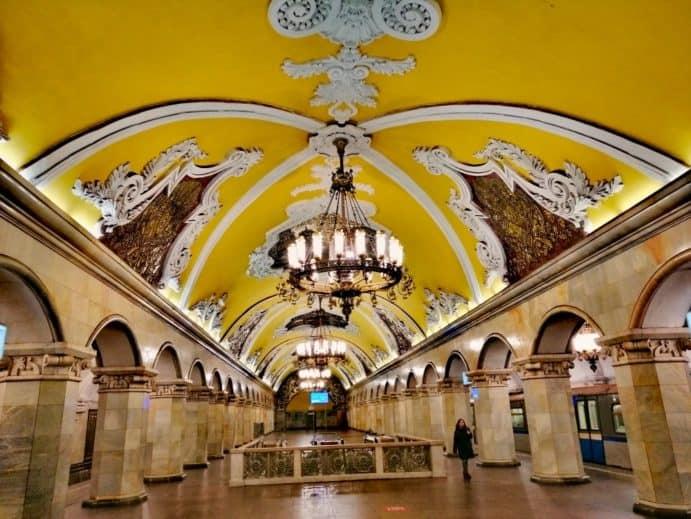 Moskauer Metro erleben