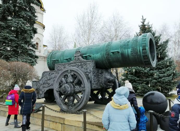 zarenkanone auflugsziel kreml - Geschichte der Zarenkanone