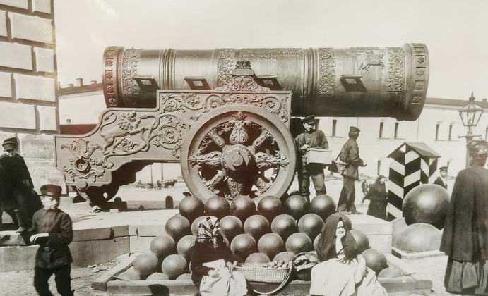 zarenkanone historisch - Geschichte der Zarenkanone