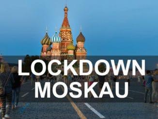 Lockdown in Moskau